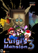 Luigi's Mansion 3 Portrait Panic - Cover Art