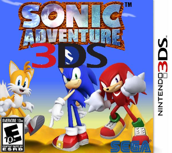 Sonic Adventure 3DS | Fantendo - Nintendo Fanon Wiki