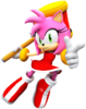 Amy rose new render by nibrocrock-d867m1u