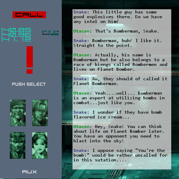 Bomberman codex