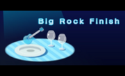Big Rock Finish title 3DS