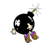 Bob-omb - Super Mario Bros. Print World