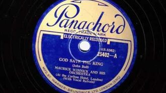 God Save The King - Maurice Winnick & his Orchestra - 1932