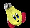 Light Bulb Kirby