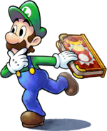 Luigi - Mario & Luigi Paper Jam