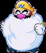 Snowman Wario WL3