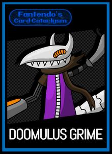 FCC Doomulus Grime Card