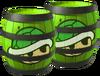 Green Shell Barrels