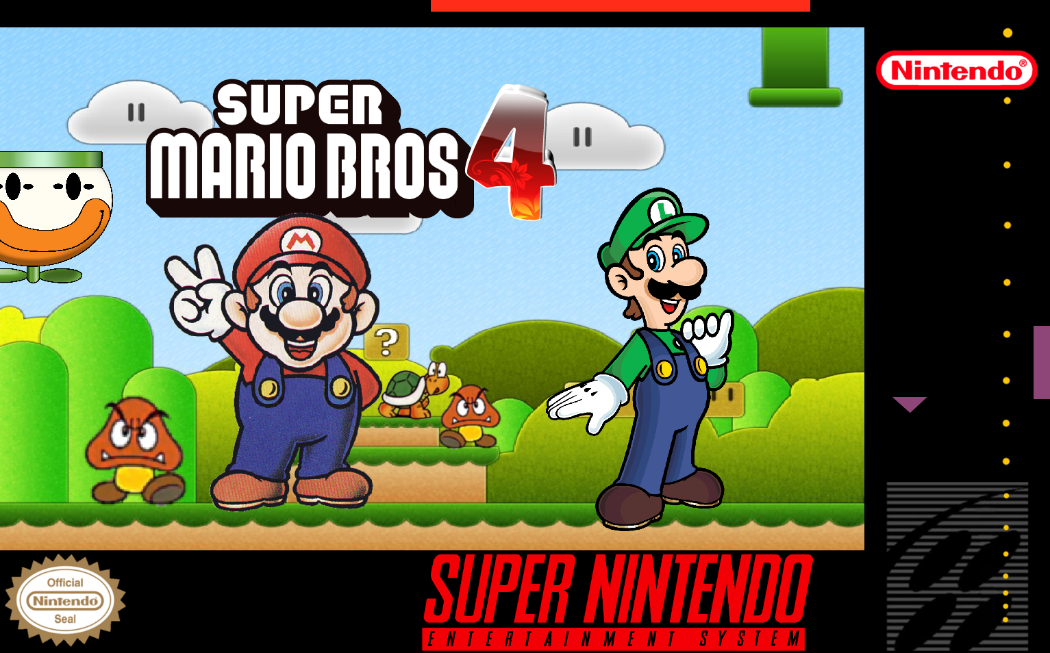 Super Mario Bros 4 | Fantendo - Nintendo Fanon Wiki | FANDOM powered ...