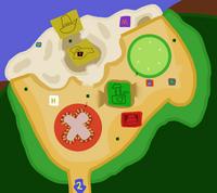 Sandwich Short Shore Map