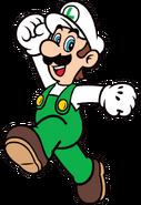 2D Fire Luigi