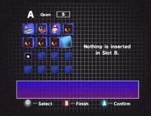Gamecube finko menu