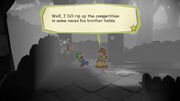 Luigi and Nabana meet Daisy