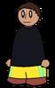 Pants YC Striped Generic