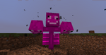 Pink wither