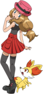 Serena XY anime old (5)