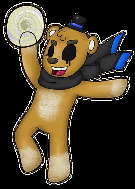 Unten- Golden Freddy Fazbear