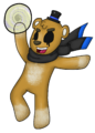 Unten- Golden Freddy Fazbear