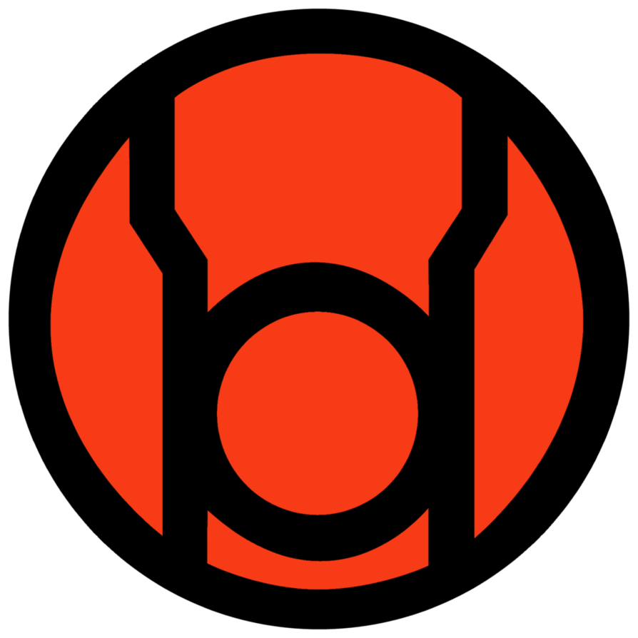 image red lantern corps symbol fill by mr droy d613gsv png