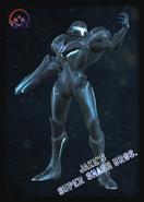 Dark Samus - JSSB amiibo card