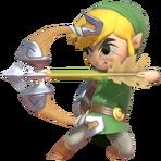1.5.Toon Link preparing an Arrow