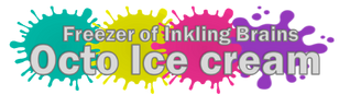 3.Octo Ice cream font