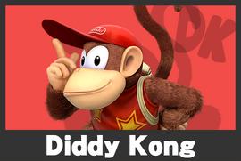 Diddy Kong mugshoot
