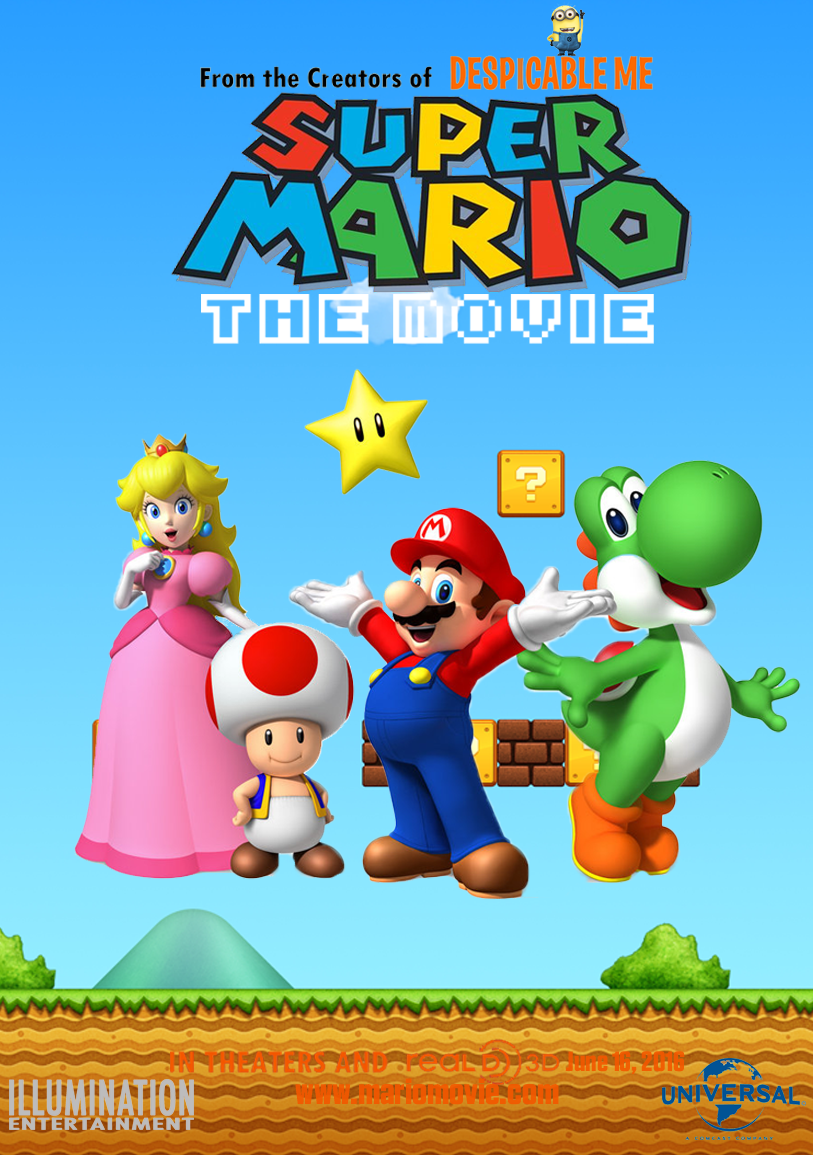 foto de Super Mario (Film) Fantendo Nintendo Fanon Wiki