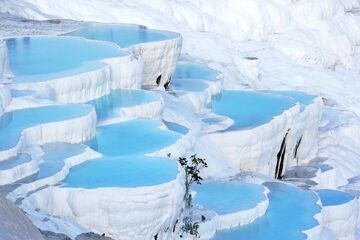 Pamukkale Hot Springs Turkey