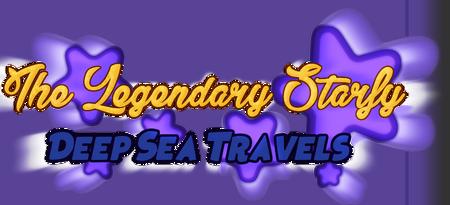 The Legendary Starfy Deep Sea Travels Logo