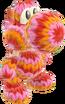 Yoshi's Woolly World design - Cinnamon Yoshi