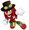 2.Knuckles with Hat 2