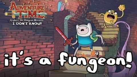 Adventure Time ETDBIDK! - WiiU X360 PS3 N3DS - It's a fungeon!