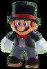 Black Tuxedo Mario 0