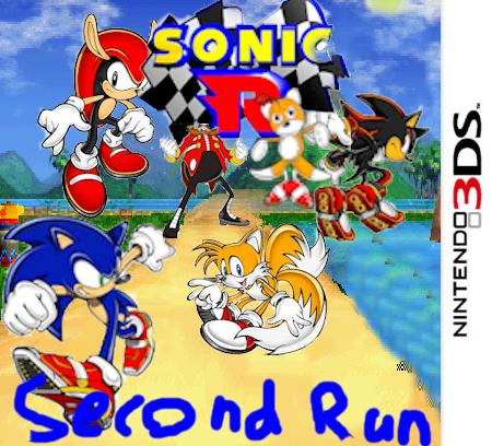 Blank Sonic R 2 case