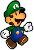 Luigi modern super paper mario 10th by fawfulthegreat64-db6i5pq