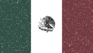 Mexican Government Remnants Flag