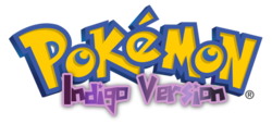 Pokémon Indigo Logo English