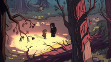 S1e1 mabel and norman in forest