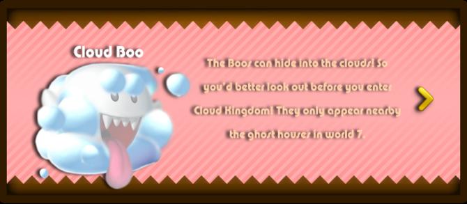 Super Mario & the Ludu Tree - Character Cloud Boo