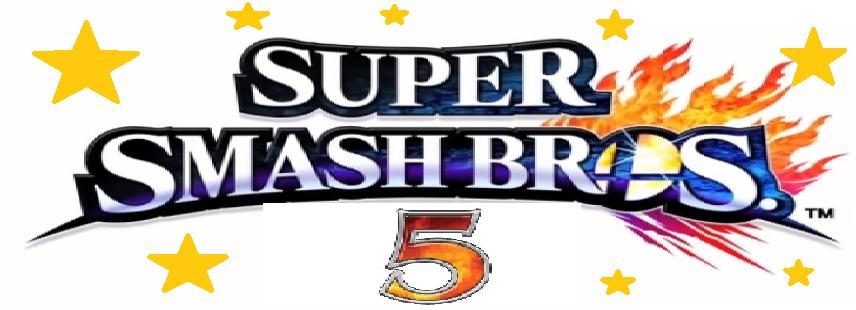 image super smash bros 5 logo png fantendo nintendo fanon wiki