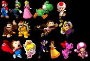 MKCC Playable Characters