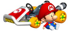 Baby Mario Artwork