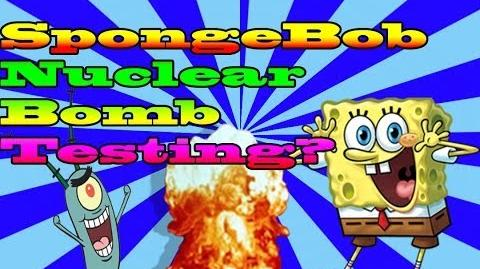 Cartoon Conspiracy Thoeries Spongebob a result from Nuclear Testing?!