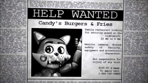 Five nights at candy's phone call night 1