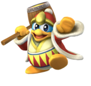 250px-King Dedede; Dedede(Clear)
