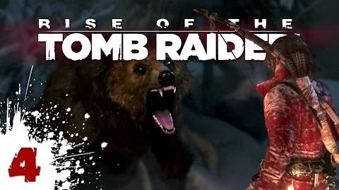 Bear Grills the Grizzly Bear - Rise of the Tomb Raider - 04
