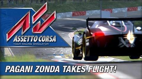 Assetto Corsa - Pagani Zonda R Nurburgring Nordschleife Laps