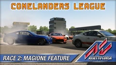 Assetto Corsa (Multiplayer) - Conelanders League - Race 2 Magione Feature (20 lap)