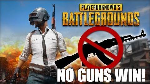 Battlegrounds Pacifist Mode No Weapons! - WINNER WINNER